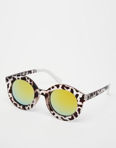 19fe36b5f3 ASOS Round Sunglasses at asos.com
