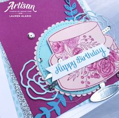Crafty Little Peach: Cake Soirée Birthday Card Set Little Peach, Peach Cake, Bakers Twine, Stampin Up, Embellishments, Card Ideas, Birthday Cards, Catalog, Birthdays