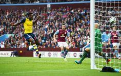 Danny Welbeck's first goal for Arsenal. Aston Villa 0-3 Arsenal (September 2014)