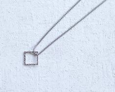 Men Necklace - Men Square Necklace - Men stainless steel Necklace - Men Jewelry - Men Gift - Boyfriend Gift - Husband Gift - Dad Gift - Male  2020 Summer collection! A trendy geometric style chain necklace for men. Its a timeless piece! This necklace is made of stainless steel round cube chain Mens Chain Necklace, Black Necklace, Necklace Lengths, Stainless Steel Necklace, Stainless Steel Rings, Gift Boyfriend, Presents For Men, Chains For Men, Wedding Men