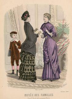 Modes Vraies Musée des Familles 1881
