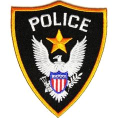 a0fabde86f2 Police Patch - 3x3.5 inch Police Patches