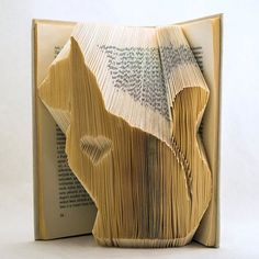 This DIY TUTORIAL gives buyers help to fold CAT with HEART into a book (as you see the photos above) - minimum 443 Pages (222 folds). ****BASIC INFORMATION**** A folded book is an ideal gift for lifes bigger events, for example: Birthday, Valentines Day, Mothers Day, Christmas, Wedding anniversary, Graduation or just a spontaneous gifting. Definitely the gift will be gratifying and memorable because a lot of people havent seen this kind of book origami before. With precise designing and…