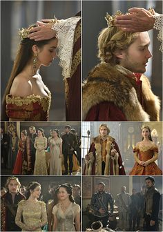 Site Update: Reign - Episodes 203 & 205 Tagless Stills Crown Aesthetic, Queen Aesthetic, Princess Aesthetic, Reign Episodes, Serie Reign, Reign Catherine, Reign Mary And Francis, Adelaine Kane, Marie Stuart