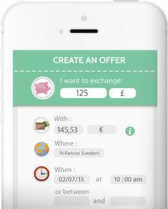 Weeleo est la toute première solution qui permet de mettre en relation des particuliers dans le but d'échanger des devises de main à main, au taux du jour et gratuitement.