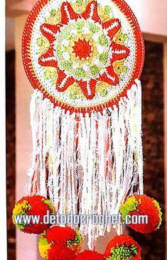 Cómo se teje mandala para atrapasueño crochet