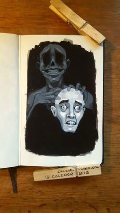 Sketchbook Inspiration, Art Sketchbook, Gouche Painting, Monochromatic Art, Deep Art, Art Drawings Sketches Simple, Pastel Art, Art Portfolio, Art Tutorials