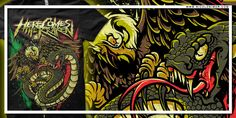 """HCTK - mexico"" t-shirt design by NICOLO NIMOR"