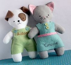 Personalized Pets (woof or meow) at Baby Gardner