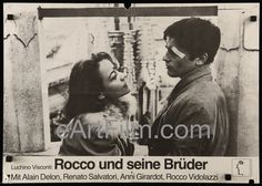 Happy #KissandMakeUpDay https://eartfilm.com/search?q=kiss #Kiss #MakeUp #Fights #Amends #movieposters #love #movies #posters  Rocco And His Brothers R70s/1960 17x24 German A2 Movie Poster