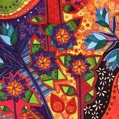 Dessin avec des feutres . flores del amazonas dibujorama