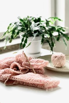 Crocheting with hand-dyed fingering weight yarn. Creating and slowliving. Finger Weights, Crocheting, Crochet Patterns, Journal, Table Decorations, Crochet, Crochet Pattern, Crochet Tutorials, Knits