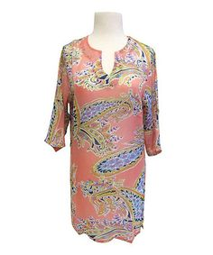 Take a look at this Fuchsia Paisley Cover-Up on zulily today!