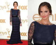 Minka Kelly. I love this dress!