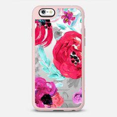 Mona Floral Transparent - New Standard Case