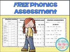 FREE Phonics Assessment
