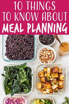 Ready to jump into meal planning? Not quite sure where to start? Here are 10 tips for first-time meal planners to get you off on the right track. Healthy Recipes On A Budget, Healthy Menu, Low Carb Dinner Recipes, Simply Recipes, Easy Delicious Recipes, Vegetarian Recipes Easy, Appetizer Recipes, Whole Food Recipes, Cooking Recipes