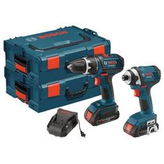 Bosch CLPK234-181L 18-Volt Lithium-Ion 2-Tool Combo Kit with 1/2-Inch Drill/Driver, 1/4-Inch Impact Driver, 2 Batteries, Charger and 2 L-BOXX Cases  http://www.handtoolskit.com/bosch-clpk234-181l-18-volt-lithium-ion-2-tool-combo-kit-with-12-inch-drilldriver-14-inch-impact-driver-2-batteries-charger-and-2-l-boxx-cases/