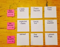 Organized Charm: Time Management System