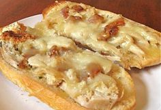 Leftover Turkey French Bread Pizza