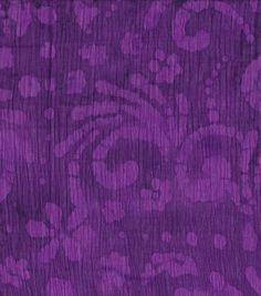 Gauze Batik Fabric-Purple