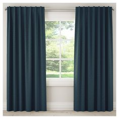 "Blackout Zuma Curtain Panel Navy (Blue) (50""x108"")"