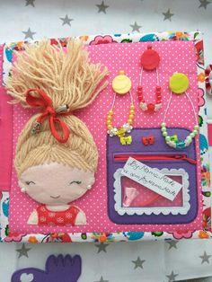 ФетриКо (купить фетр, пуговицы г.Симферополь) Diy Quiet Books, Baby Quiet Book, Felt Quiet Books, Felt Crafts, Diy And Crafts, Crafts For Kids, Quiet Book Patterns, Quiet Book Templates, Felt Kids