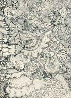 Awesome Zentangle art by linda