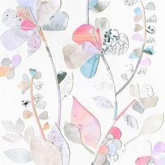 Laura Blythman #collage #floral #botanical #art