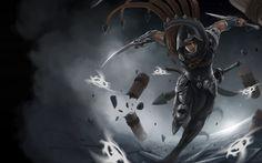 Talon League of Legends Champion Art Blade Sword High Resolution Wallpaper 4096×2560