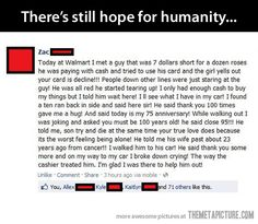 Some people can restore your faith in humanity…