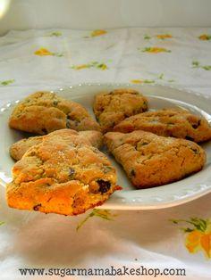Gluten free & vegan scone recipe.