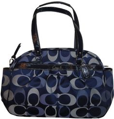 Buy New  (UK   Ireland Only)  Women s Addison Signature Logo Baby Bag Tote  Blue Multicolor 7ed38c707074e