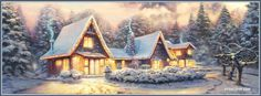 christmas cottages photos | Christmas Cottage Facebook Covers, Christmas Cottage FB Covers ...