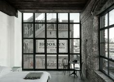 Whythe Hotel Brooklyn - a converted textile factory in Williamsburg