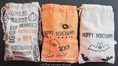 Halloween Treat Bags!! Using new My Thoughts Exactly stamps!! http://mythoughtsexactly.co/stamps/product-category/holidays/halloween/?affiliate=10