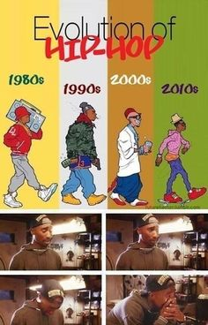 Evolution of hip hop // funny pictures - funny photos - funny images - funny pics - funny quotes - #lol #humor #funnypictures