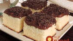 Mokrý koláč z kondenzovaného mlieka: Veľmi šťavnatý hrnčekový koláčik, chutí nám viac ako torta! Yummy Treats, Yummy Food, Delicious Recipes, Mini Cheesecake, Food Lists, Yummy Cakes, Tiramisu, Bakery, Vegetarian