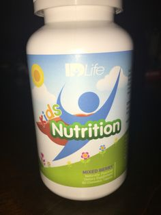 ID Life Kid's Nutrition Kids Nutrition, Design Your Own, Berries, Drinks, Bottle, Life, Drinking, Beverages, Flask