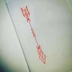 A not so little #arrow #tattoo #design sorted