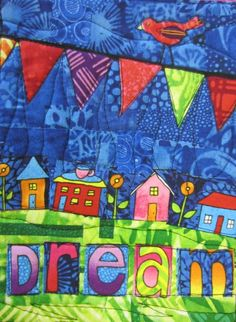 "Art  - Colors  - Inspiration  - Words ""Dream"" by Jamie Fingal http://JamieFingalDesigns.blogspot.com/"
