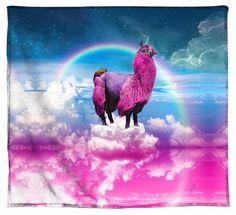 Llamacorn Blanket