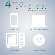 4 Everyday Things EMF Shields Will Help Protect You From the technology powering much of your life.
