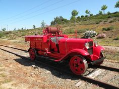 SD&AE -- San Diego and Arizona Eastern Railway Firetruck. This 1931 Ford AA (owned by the California State Railroad Museum).