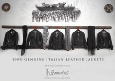 Genuine Italian Leather Jackets from Ammentos, Firenze
