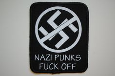Dead kennedys Sewn Patch (SP1076) Punk Rock Anti Racism Oi Sharp Skinhead ska