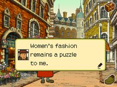 ROFL! Professor, you should see women's fashion here in America... it's even worst!