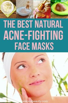 At home remedies for acne - DIY natural face masks that will help you get rid of acne and achieve clear skin Natural Acne Treatment, Natural Acne Remedies, Home Remedies For Acne, Herbal Remedies, Acne Face Mask, Acne Skin, Acne Prone Skin, Face Masks, Body Acne