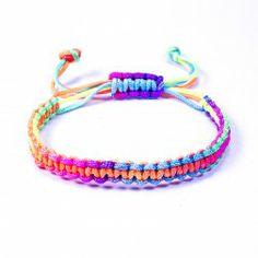 Bracelet Brésilien Beach Multicolore