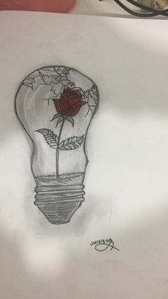 """""""The broken rose """" : a drawing create by literallytvy ✨"""